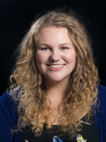 EMU admissions counselor Hannah Cash
