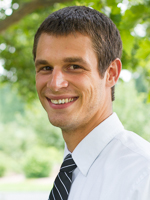 Eastern Mennonite University admissions counselor Travis Nyce