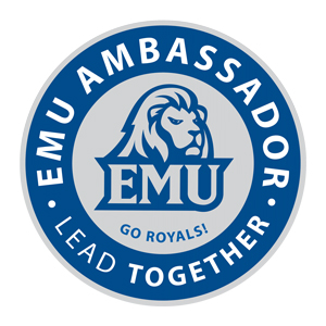 EMU Ambassador graphic
