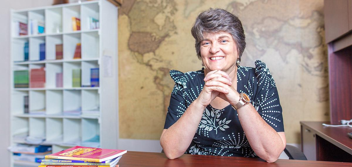 Alumna of the Year- Regina Horst Chacha '85