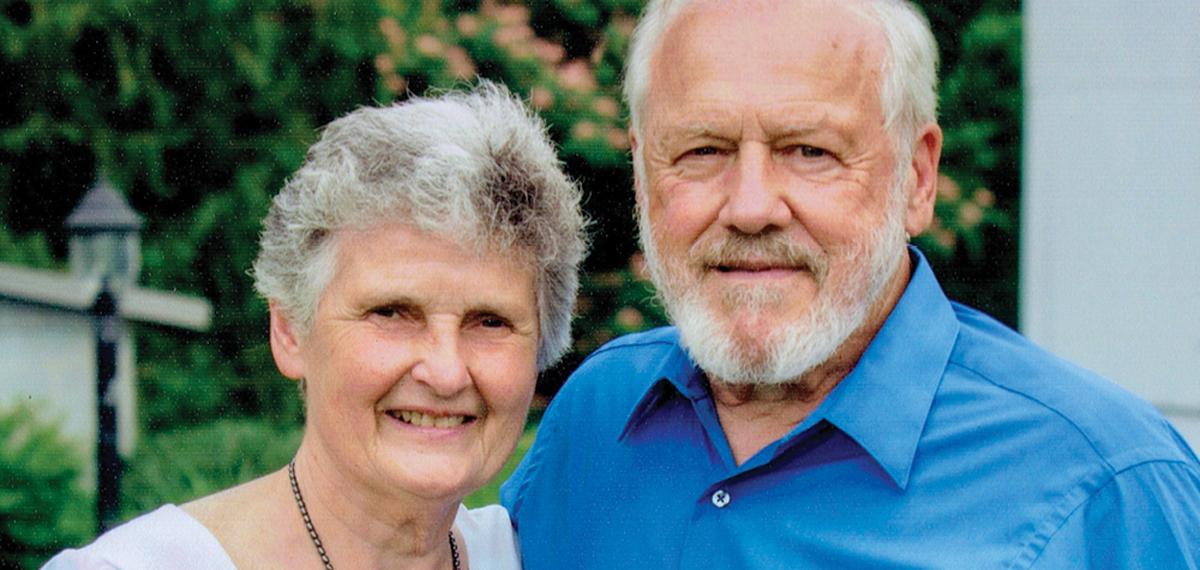 Distinguished Service Award: Susan and Stan Godshall, '65