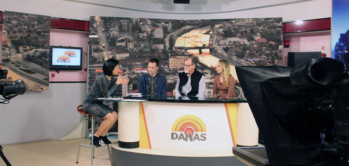 VACA professor on Serbian talk show