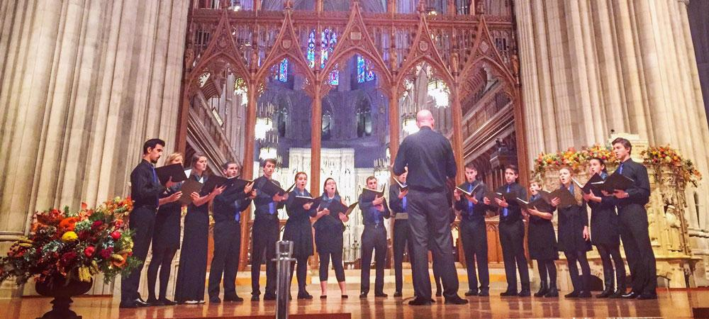 Emulate performed in the National Cathedral