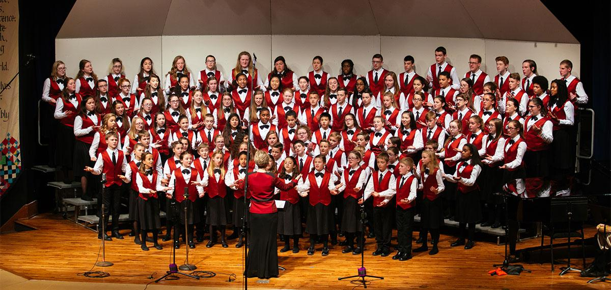 Children's choir and youth symphony join for Nov. 19 concert