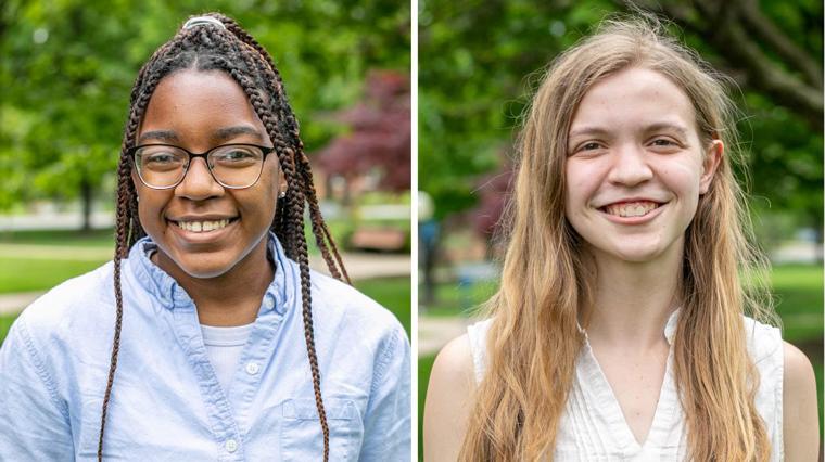 Natallie Brown and Elizabeth Eby