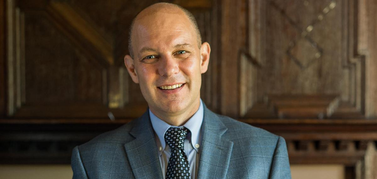 Jeff Gingerich '90 Named Provost of University of Scranton