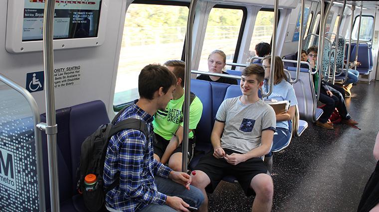 Navigate public transportation