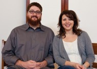 Nate and Kristy Koser, both MA '09 in counseling, work at EMU.