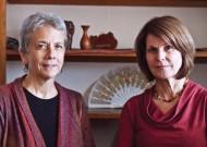 Elaine Zook Barge '84, MA '03 (left), & Carolyn E. Yoder '72