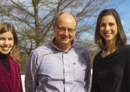 EMU accounting faculty: Marilla Melcher, Ronald Stoltzfus '75, Leah Kratz '00