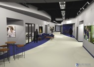 Proposed Concourse ! within the renovated Suter Science Center, pending sufficient contributions.