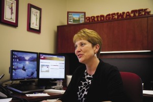 """Vikki"" Ingram, MBA '05, directs human resources at Bridgewater College."