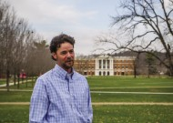 Randy Hook '95 directs the counseling services of Bridgewater College