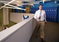 Danny Malec, MA '05, is assistant principal for restorative practices at an inner city school in Washington D.C.