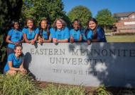 Northlawn Pastoral Assistants and Ministry Assistants: Jolee Paden, Oksana Kittrell, Alexa Weeks, Jasmine Miller, Megan Weaver, Makora Nyagwegwe, Anel Molina