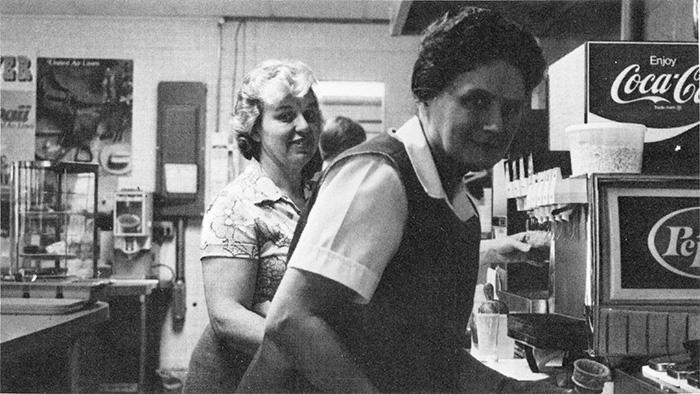 Helen Ours in 1982
