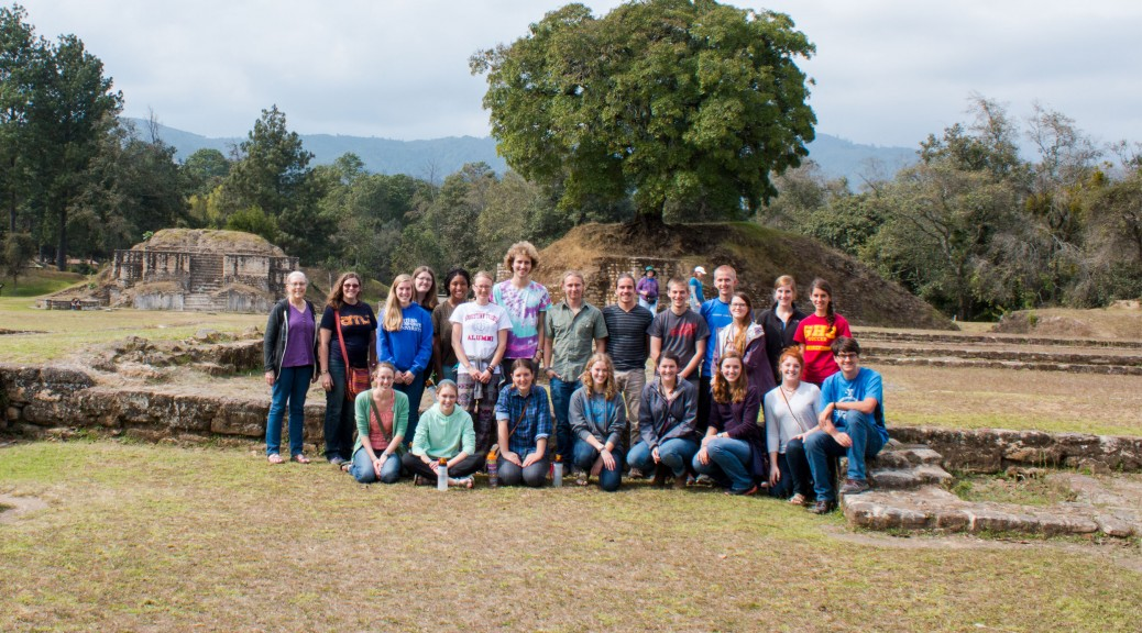 Group at Iximche