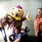 Dylan, Tyler, Hattie and Beijing Duck
