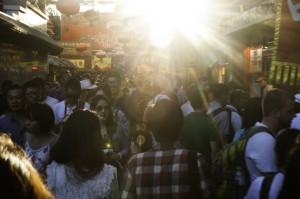 Beijing market alley  -Jonathan Drescher-Lehman
