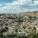 View of Granada, Spain from the Alhambra. Photo by: Josh Sauder
