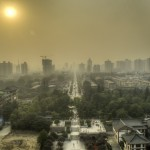 View from the Great Goose Pagoda