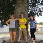 Becka, Lucas, and Annika on a excursion to Cordoba, Spain Photo by: Phil Yoder