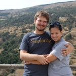 Josh and Amanda in the Sierra Nevadas near Alpujarra, Spain. Photo by: Taylor Waidelich