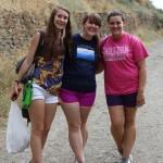 Mandy, Melinda, and McKenzie enjoying a walk in the Sierra Nevadas. Photo by: Taylor Waidelich