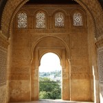 At the Alhambra in Granada, Spain. Photo by: Taylor Waidelich