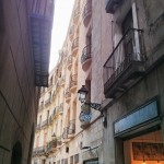 The streets in Barcelona Photo by: Josh Sauder