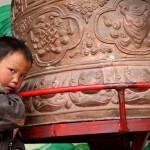 Tibetan boy Photo by Dylan A. Bomgardner