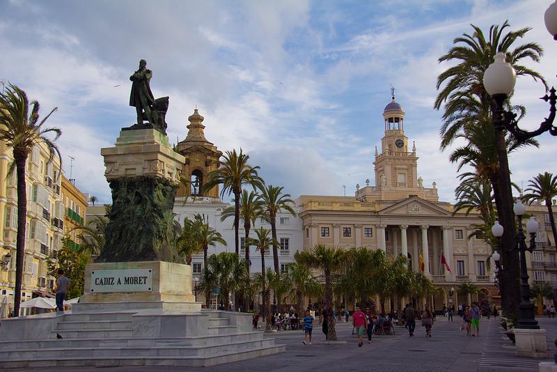Cadiz Plaza Espana