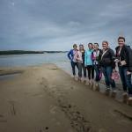 Feeling Baltic waters, Photo - DJH