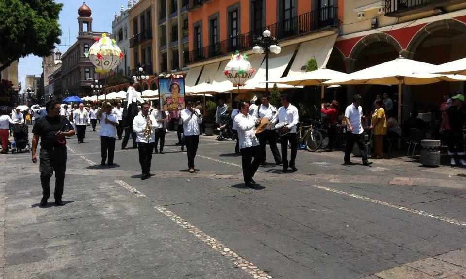 Domingo en Puebla
