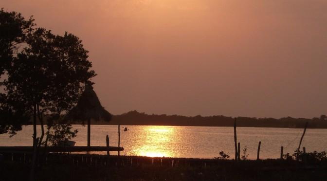 Guatemala sunset