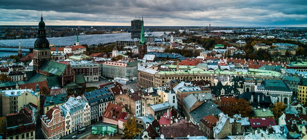 Klaipeda cityscape