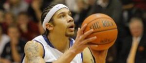 EMU Basketball Player Andrew Thorne