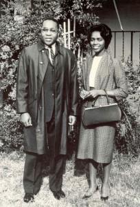 Vincent and Rosemarie Harding. (Courtesy Mennonite Historical Bulletin)