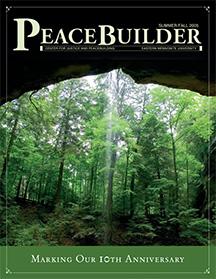 First issue of Peacebuilder, CJP alumni magazine