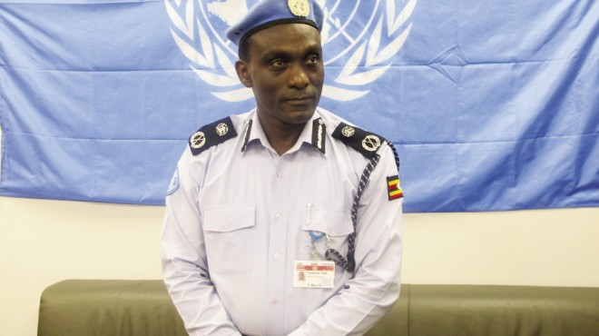 "Fred Yiga, MA '06, feels ""we are on the right track with police development in South Sudan."" If this track eventually leads to stability in South Sudan, Yiga will deserve considerable credit as the UN police commissioner for the UN Mission in South Sudan."