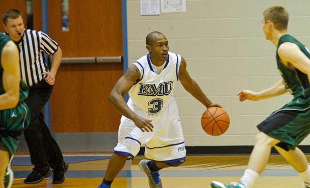 EMU Student-Athlete Eli Crawford