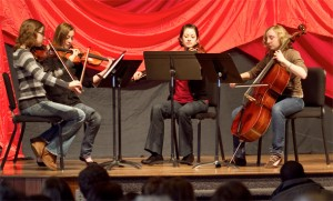 Music Ensemble Performs During Spring 2011 Convocation