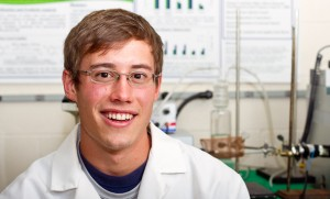 EMU Science Alum Nate Derstine