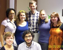 2011 Peace Oratorical Contestants at EMU