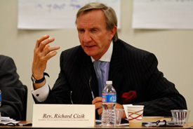 Richard Cizik, a prominent Christian evangelical lobbyist in Washington, D.C.