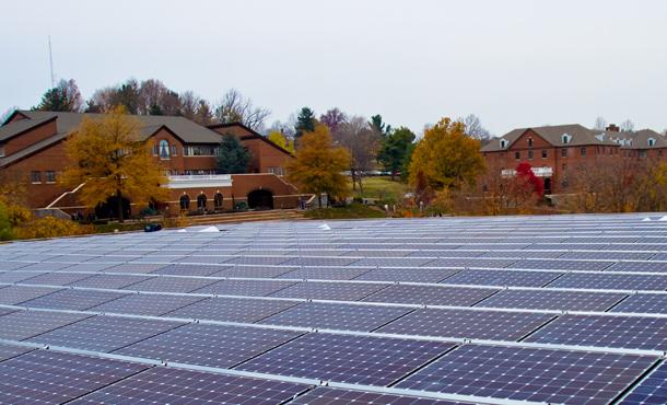 EMU's Solar Power Array