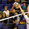 EMU sophomore and volleyball stand-out Chris Moise