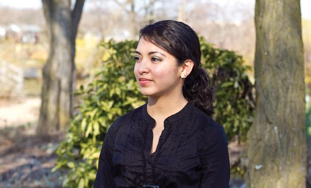 2007 EMU graduate Isabel Castillo, activist for the DREAM Act