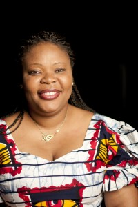 Leymah Gbowee, a 2007 graduate of EMU's Center for Justice and Peacebuilding (photo by Jon Styer)