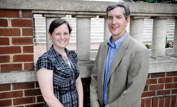 Rebecca Stone & Dave Saunier